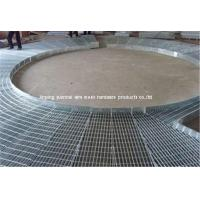 China Light weight Soft Steel Grating Panels For Roof Drainage System wholesale