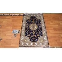 China Persian Hand Knotted Silk Rug on sale