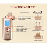 Anti Wrikles / Puffiness Home Microcurrent Facial Machines Lightweight Y Shape