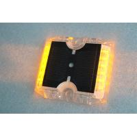China 12 LEDs Solar Powered Road Studs 115×105×20 MM -20°C +70°C Work Temperature wholesale