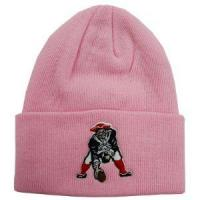 China New England Patriots Pink Cuffed Winter Hat wholesale