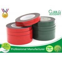 China Strong Viscosity PE Foam Material Double Side Tape For Home Decoration / Automobile Emblem wholesale