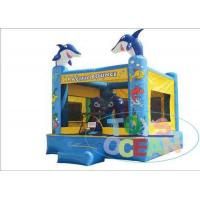 China Mini Sea Ocean Inflatable Bouncer House With Fish Design Commercial Party Rental wholesale