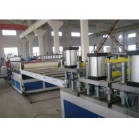 China Waterproofin / Fire Retardant PVC Foam Board Machine PET Sheet Extrusion Line wholesale