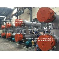 China Horizontal Structure Thermal Oil Heater , Fluid Type Industrial Sized Heaters on sale