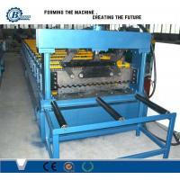 Environmental Corrugated Colors Steel Roof Roll Forming Machine For Metal Roofing Sheets