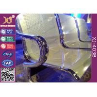 China Anti Rust Steel Waiting Area Chairs , Durable Metal Airport Waiting Chairs wholesale