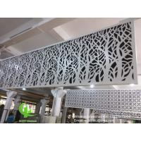 China hollow pattern 3mm aluminum cladding panel with powder coated for facade curtain wall solid panel single panel wholesale
