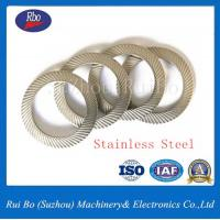 China Stainless Steel Carbon Steel DIN9250 Double Side Knurl Lock Washer Flat Washer Spring Washer on sale