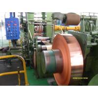 China Industrial Thin Copper Strips / Copper Sheet Metal For PV Ribbon wholesale