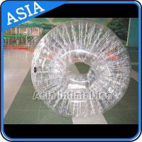 China 1.0mm  Transparent PVC Inflatable Zorb Ball Human Hamster Ball wholesale