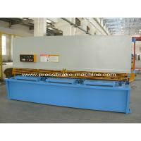 China Motorized Hydraulic Metal Sheet Shearing Machine , Guillotine Shear Cutter on sale