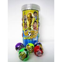 China Football Shape 6g Multi Fruit Flavored Hard Candy In Jars Personalized wholesale