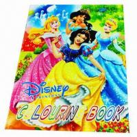 China Coloring Book, Measures 21 x 28.4cm wholesale
