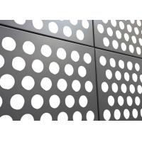 China Durable Corrosion Resistant 3mm / 4mm Perforated Aluminium Plate For Partitions / Roofs wholesale