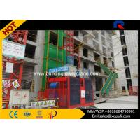China Double Cage Construction Hoist Elevator Load Capacity 2*2000Kg Frequency controlled wholesale