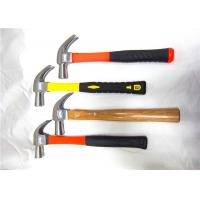 China 27 mm Industrial / Household Claw Hammer Tool With Wooden And Plastic Handle wholesale