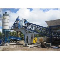China 25m3/H Belt Type Quick Dry Mix Mobile Concrete Batching Plant Fully Automatic Type wholesale