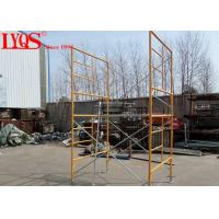 "China 5' 7""×6'4"" Double Mason Scaffolding Frames High Strength With Powder Coated Surface wholesale"