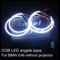 China COB LED angel eyes for BMW LED headlight ring LED halo ring for E46 non projector wholesale