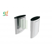 China Physical Access Systems Flap Gates, Waist Height Turnstile Security Turnstyle Doors on sale