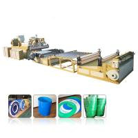 China Multilayer PP PE PC ABS Pvc Sheet Extrusion Line0.2mm-12mm Thickness Range wholesale