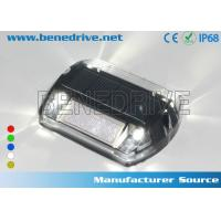 China Solar Powered LED Plastic Road Stud IP68 Outdoor 100X100X20 mm wholesale