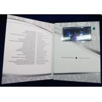 China 4.3 Inch Video Clothing Card  Video Trading Card For Promotional Events wholesale