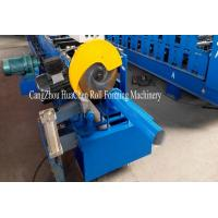 China Rainwater Downspout Roll Forming Machine With φ75mm Axis for Rainwater Downpipe wholesale