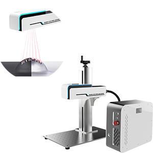China 20W 30W 3D Focus Dynamic Stainless Steel Engraving Machine Fiber Laser Marking Machine wholesale