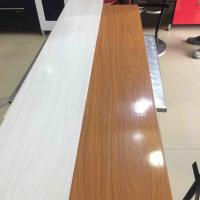 China 25cm Decorative Plastic Wall Panels , Wood Interior Wall Paneling Excellent Insulation wholesale