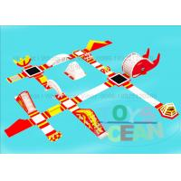 China Commercial Floating Sea Inflatable Play Park Free Fall Trampoline Inflatable Outdoor Games wholesale