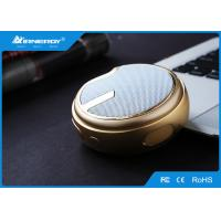 China Gold Mini Portable Bluetooth Speakers Player For Travel , ABS Plastic Materials wholesale
