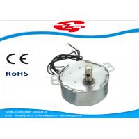 China 1.5RPM Home Ac Electric Motor , Silver Color Synchronous Ac Motor 49TYD Low Noise on sale