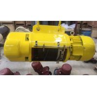 China Heavy Duty 2 ton Electric Wire Rope Hoist For Storage / Warehouse / Workshop on sale