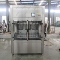 China Olive oil filling machine and capping machine with labeling machine, detergent liquid filling machine for glass bottle wholesale