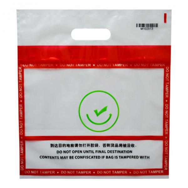 Quality Plastic Tamper Evident Security Bags /Medical Biohazard Specimen Bag for sale