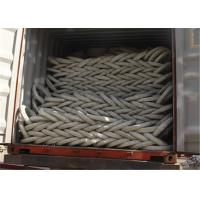 China PVC Razor Barbed Wire Fence , Colored Concertina Wire Fencing Firm Structure on sale