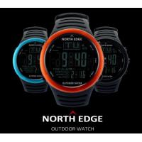 China NORTH EDGE Outdoor Watch Altitude Atmospheric Count Down Watch for Fishing Mountaineering Hiking 720 wholesale
