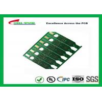 China 2 Layer Flash Gold PCB Green Solder Mask Quick Turn PCB Prototypes Fiducial Marks Add wholesale
