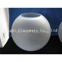 China frosted glass lamp shade, glass global cover wholesale