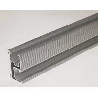 China Silver Solar Roof Mounting Rail With Anodized AL600-T5 Aluminum wholesale