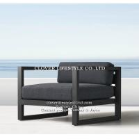 China All aluminum sofa with powder coating for Home. Hotel, Garden and Beach by Clover Lifestyle Outdoor Furniture wholesale