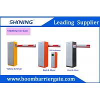 China 220v/110v 6 Meters ElectronicBoom Barrier Gate With Single Stright Bar wholesale