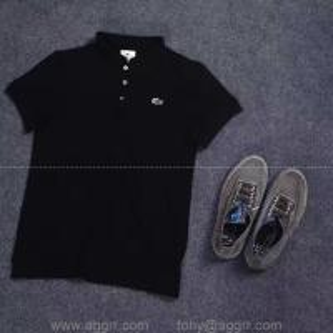 China Lacoste short sleeve men T-shirt designed men polo shirts discount price wholesale