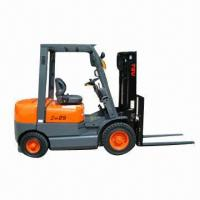 Buy cheap Gasoline Forklift with Loading Capacity of 2,500kg from wholesalers