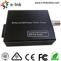 China 10/100M EOC onverter , Ethernet To Coax Media Converter with POE spillter wholesale