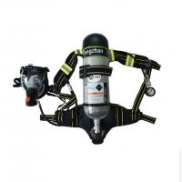 China Self Content Firefighter Breathing Apparatus 6 . 8L Volume 300Bar Pressure on sale