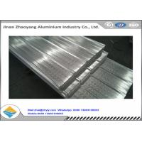 China Feeding Width 900mm Corrugated Aluminum Sheet / Galvalume Roofing Sheet YX15-225-900 wholesale