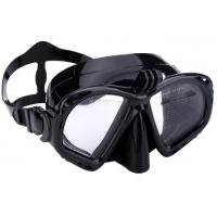 China Food Grade Unisex Silicone Diving Mask With Camera Mount / Durable Buckle wholesale